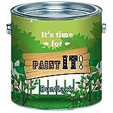 Paint IT! Buntlack hochwertigerKunstharzlack für Holz und Metall - Deck-Farbe Deck-LackLackfarbe Wetter- und Vergilbungsbeständig