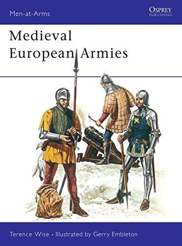Medieval European Armies (Men-at-Arms) por Terence Wise
