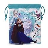 Disney Frozen Mijn Zuster Mijn Hero Mini Gym Tas, Blauw