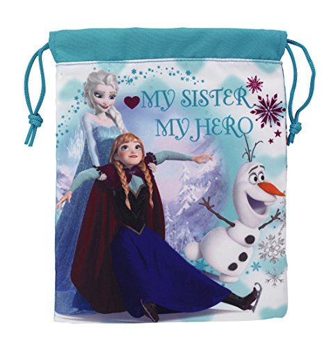 Disney Frozen My Sister My Hero Mini Turnbeutel, blau (Disney Walt Travel)