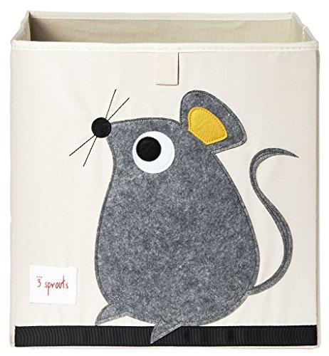 *3 Sprouts UBXMOU Aufbewahrungsbox Maus, mehrfarbig*