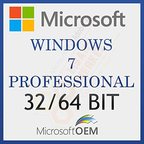 MS Windows 7 Professional 32-64 BIT | Con Fattura | Versione completa, licenza a vita iniziale, codice di attivazione della licenza e-mail e tempi di consegna del messaggio: da 0 a 6 ore