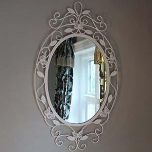 Butterfly Oval Wall Mirror