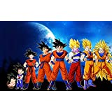 Dragon Ball Episode of Bardock (22x14 inch, 56x35 cm) Silk Poster Seda Cartel PJ1F-1ED3