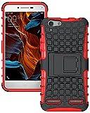 Dashmesh Shopping Lenovo Vibe K5 / Vibe K5 Plus, Shock Proof Protective Case For Lenovo Vibe K5 / Vibe K5 Plus - Hot Red
