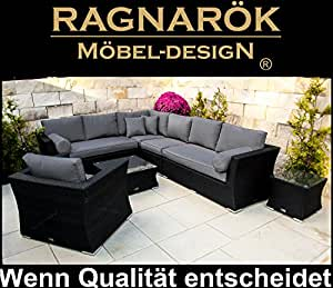 polyrattan lounge deutsche marke eignene produktion 8 jahre garantie auf uv. Black Bedroom Furniture Sets. Home Design Ideas