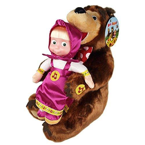 Masha y el oso SET / Oso 28cm + Masha 22cm