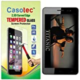 Casotec 2.5D Curved Edge Tempered Glass Screen Protector for Micromax Canvas Juice 3 Plus Q394