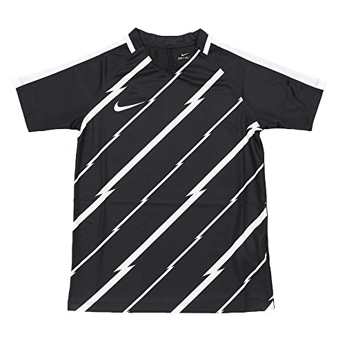 Nike/NK Dry SQD Top SS GX maglietta a maniche corte, uomo negro (black / white / white)