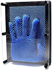 3D Pin Art Impressions - Large 3200 pins (Blue)