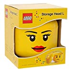 Lego-Storage-Head-Girl-Large-Giallo-Grande