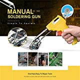 TAOtTAO Manual Soldering Manuelles Lötwerkzeug zur verbesserten Reparatur-Brett-Zinn-Fütterungs-Struktur (Gelb)