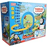 Hobnot Thomas And Friends Thomas Train Roller Coaster Train Set With A Complete 360 Degree Loop For Kids.