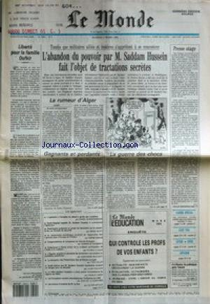 MONDE (LE) [No 14338] du 02/03/1991 - LI...