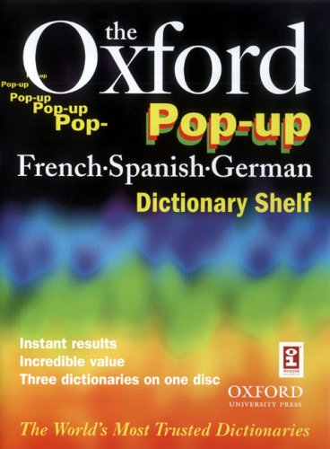 The Oxford Pop-up French Spanish German Dictionary Shelf Test
