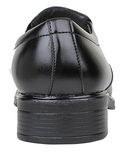 Digni Le glissement des hommes sur les chaussures habillées casual usure formelle parti pantoufle mocassin - Choisir la taille Noir