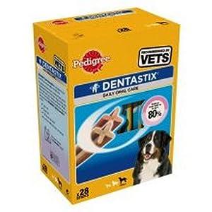Pedigree - Bâtonnets dentaires pour chiens DENTASTIX (Lot de 28)