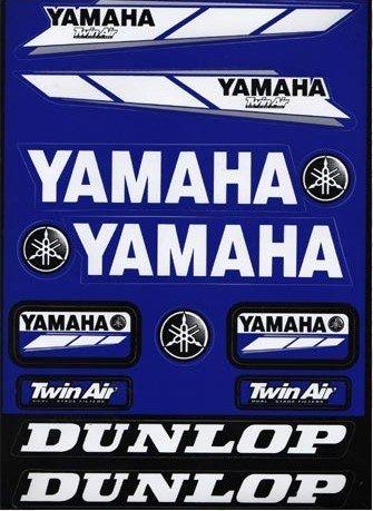 Autocollants Stickers Yamaha MAX AIR Feuille de 11 Stickers 32X23cm