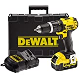 DeWalt 18V XR Lithium-Ion 2-Speed Combi Drill with 1 x 4Ah Battery