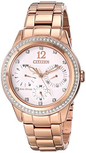 Citizen FD2013-50A – Reloj para mujeres color oro rosa
