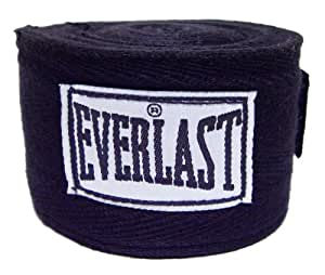 Everlast Boxing Hand Wraps (Black, 108)