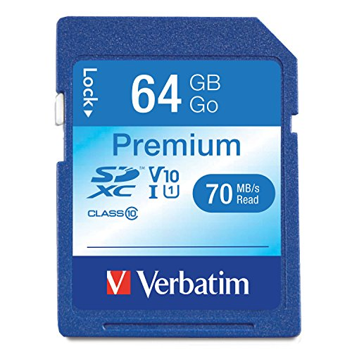 Verbatim securedigital sdxc class 10 64gb