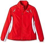 Puma Mädchen Jacke TB Running Warm Up Jacket W, Red, 152, 509460 01
