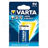 Varta 4922 High Energy 9Volt/6F22 Batterie 20-Pack (20er Set)