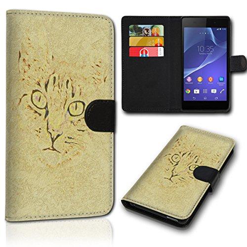 Book Style Wiko Sunset 2 Tasche Flip Brieftasche Handy Hülle Kartenfächer für Wiko Sunset 2 - Design Flip SVH31