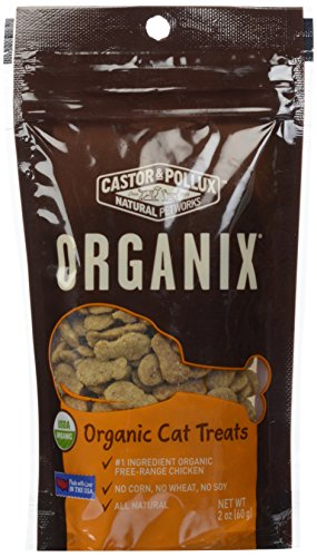 Cast Original Pollux Organix Cat Treats Chicken Formula 2-Ounce Packages (Pack of 12)