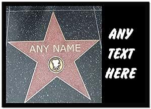 Hollywood Star personnalisé Ordinateur Tapis de souris