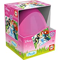 Princesas Disney - Puzzle huevo, 48 piezas (Educa Borrás 17185)