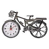 KINTRADE Retro Vintage Kunststoff Fahrrad Wecker Uhr Dekoration