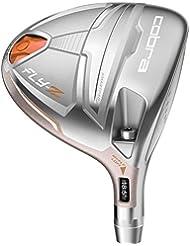 Cobra Golf flyz Fairway Madera Mujer Derecho Mano Color Plata, # 7 – 9 (23 ° de 26 °), Ladies Flex