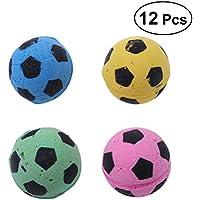 POPETPOP Spielzeug-Schwammball für Katzen, Interaktives Spielzeug für Katzen, Spielzeugkugeln, zufällige Farbe