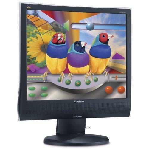 Viewsonic VG2030WM 50,8 cm (20 Zoll) Wide Screen Monitor schwarz/anthrazit (Kontrast 800:1, 5 Ms Reaktionszeit) Viewsonic Widescreen Lcd