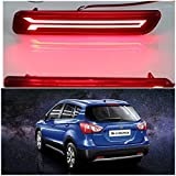 #10: PR Car Reflector Led Brake Light for Bumper(Rear/ Back) Drl for Maruti Suzuki Scross- Set of 2 Pcs with wiring(For Maruti Suzuki Baleno/Breeza/Ciaz/Ertiga/New Swift Dzire/Scross/Ritz/SX4)