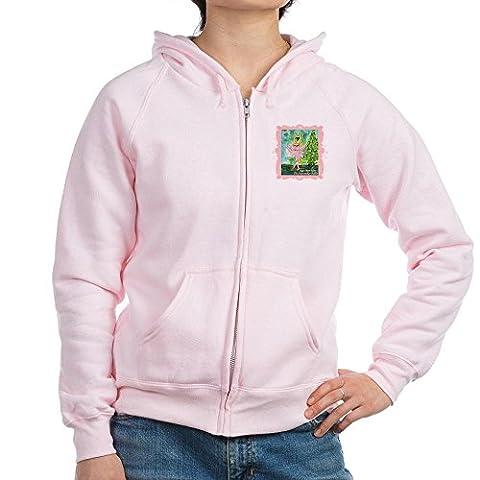 CafePress - Sugar Plum Fairy Women's Zip Hoodie - Womens Zip Hoodie, Classic Hooded Sweatshirt with Metal Zipper