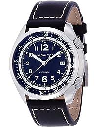 Hamilton reloj caqui Piloto Pionero Automático h76455733hombre [Regular importados]