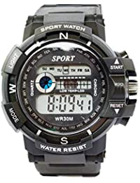 VITREND C-Shock Water Resist-Cold Back Light-Stander Display -003-Sports Digital Watches For Men And Women(Random...