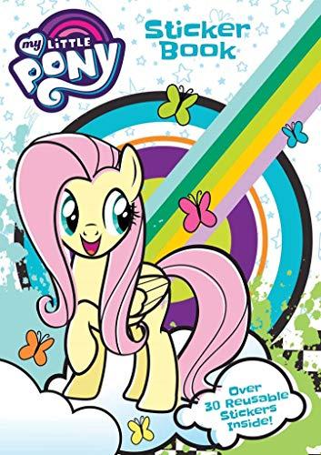 ANKER My Little Pony Aufkleber Buch, Kunststoff, Mehrfarbig