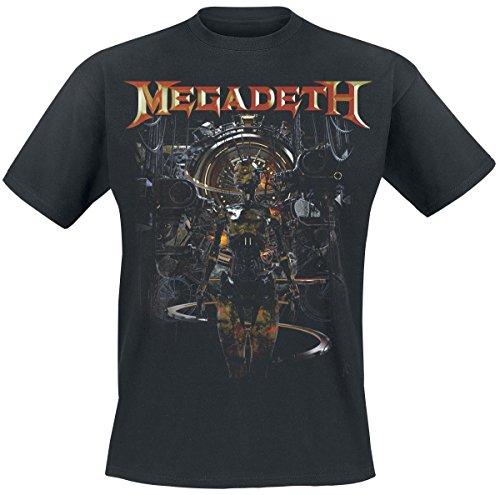Megadeth Atomic Mohican Camiseta Negro M