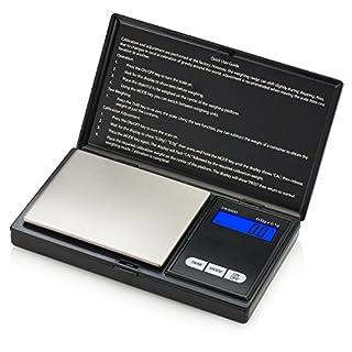 Smart Weigh SWS600 Elite Pocket Sized Digital Scale - Black