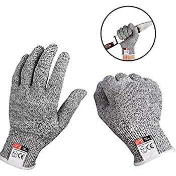 1pairs Anti-cut Gloves Safety Proof Stab Resistant Stainless Steel Wire Metal Mesh Kitchen Butcher Cut-resistant Gloves Save 50-70% Back To Search Resultsapparel Accessories