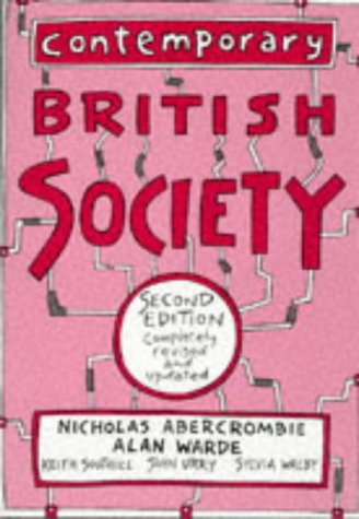 Contemporary British Society: A New Introduction to Sociology