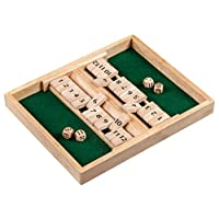 Philos-3282-Shut-The-Box-12er-fr-1-2-Personen-Wrfelspiel-Holz