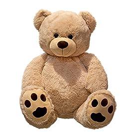 Lifestyle & More Giant Teddy Bear coccolo XXL 100 cm di Altezza Peluche Vellutato Peluche Morbid
