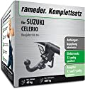 Rameder Komplettsatz, Anhängerkupplung abnehmbar + 13pol Elektrik für SUZUKI CELERIO (121959-13151-1)