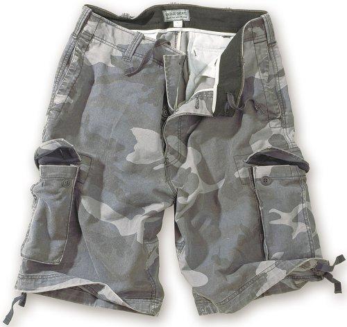 Surplus Vintage Shorts, Night CAMO, S - Surplus Camo