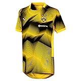 Puma BVB Stadium Graphic Jersey Jr with Sponsor Logo Maillot, Unisex niños, Amarillo Cyber Yellow, 152